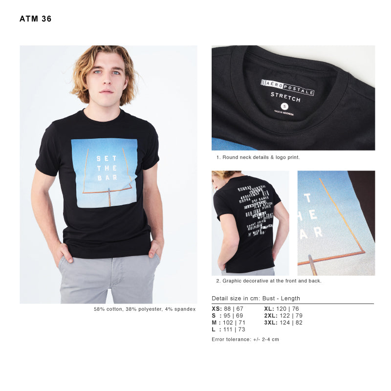 Kaos Pria-SFT The Bar Graphic Tee [ATM 36]