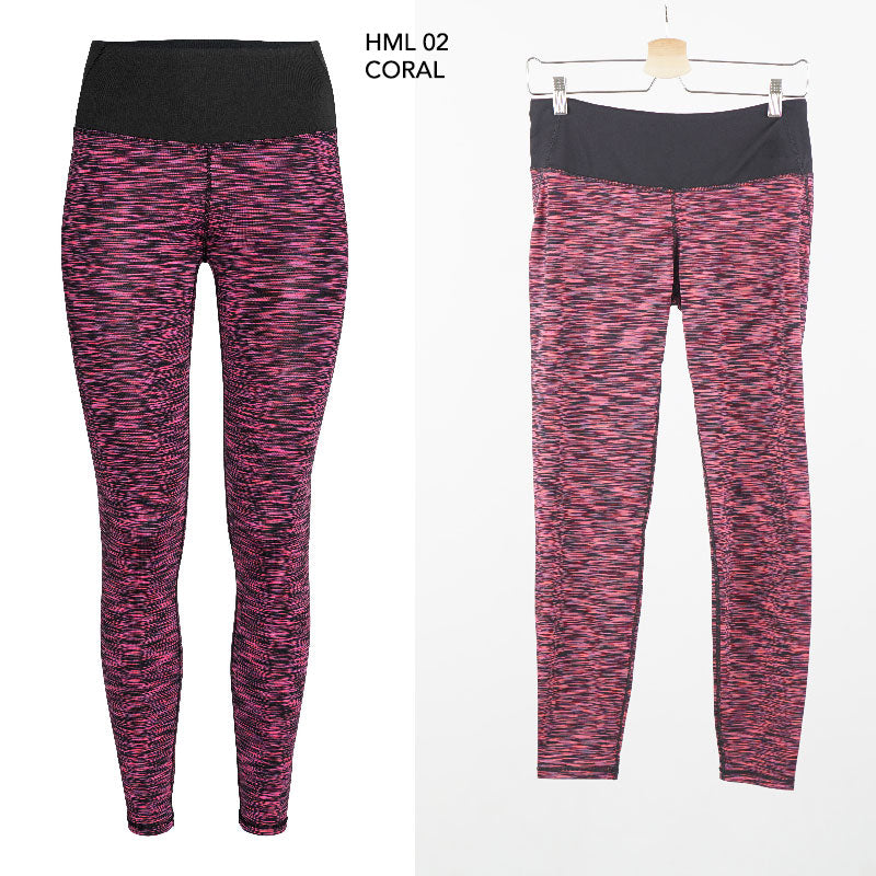 LEGGING SPORT ACTIVE TWO TONE MERL (HML 02)