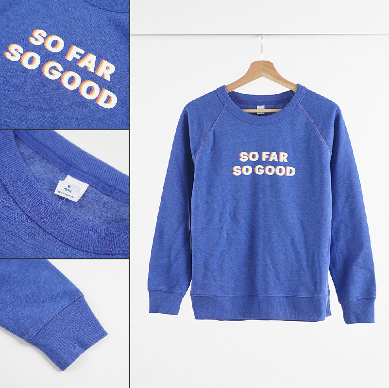 Sweatshirt Wanita - Blue So Good [OSW 01 BSG]