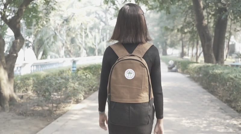 Plastic-free Sustinable Eco-Friendly Backpacks- 30 way to go plastic-free - Clan Earth
