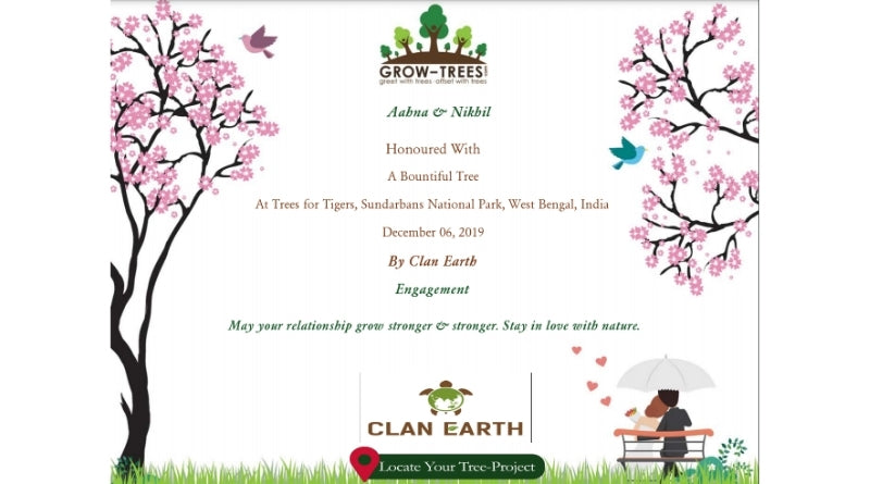 Gift a tree - - 30 way to go plastic-free - Clan Earth