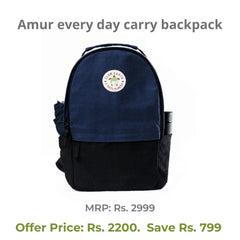 Father's Day Gifts 2021 - Amur Backpack  - Eco Friendly & SustainableFather