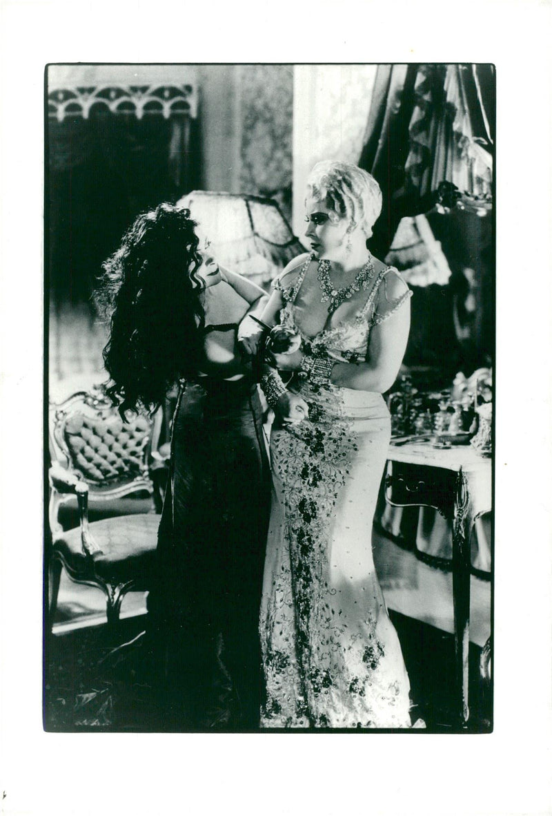 "Mae West in the movie ""She done him wrong"" - Year 1933 - Reprint"
