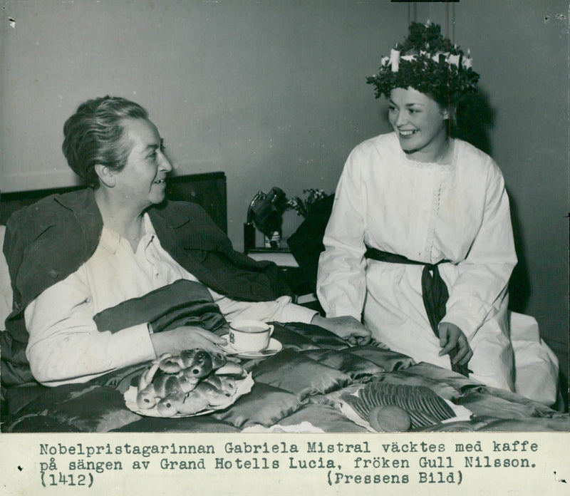 Author Gabriela Mistral - Reprint