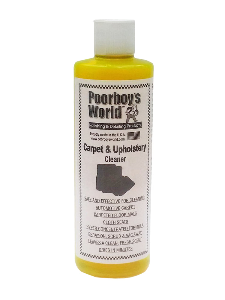 Poorboys -  Carpet And Upholstery Cleaner (16OZ)