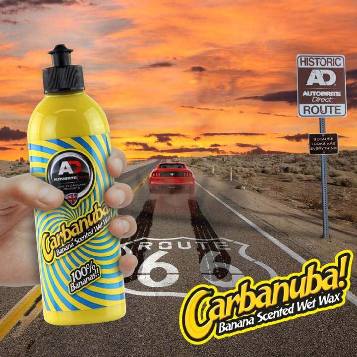 Autobrite Direct - Carbanuba Car-Ban-Uba Banana Scented Wet Wax 500ml