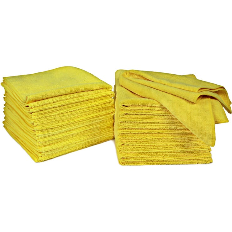 Signature Ultra Plush Microfibre Towels Yellow