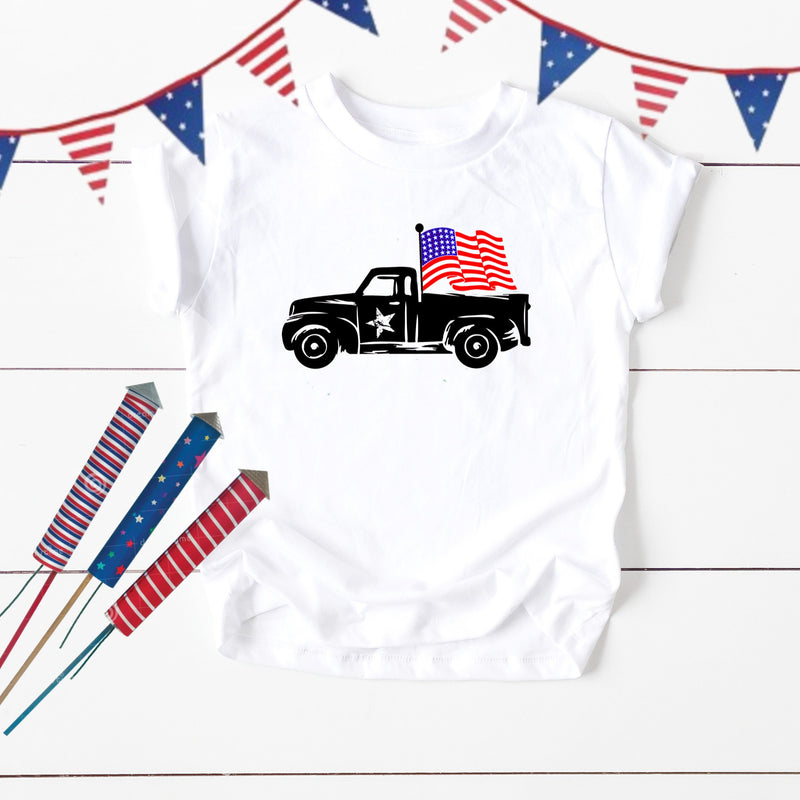 Patriotic Truck Youth