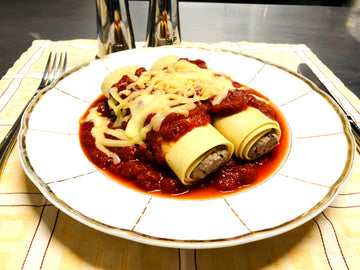 Beef Cannelloni with Napolitana Sauce