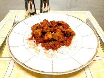 Hearty Beef Goulash With Rice (GF) (DF)