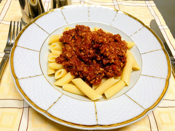 Beef Gluten Free Penne Bolognese (GF) (DF)