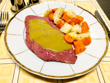 Beef Silverside With Boiled Vegetables (GF) (DF)