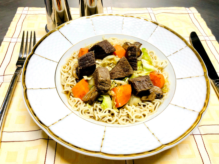 Beef Stir Fry With Oriental Noodles (DF)
