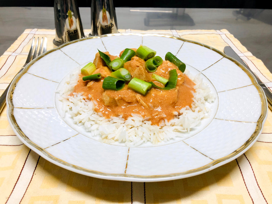 Butter Chicken With Rice (GF)