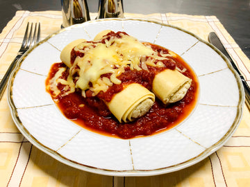 Chicken Cannelloni with Napolitana Sauce