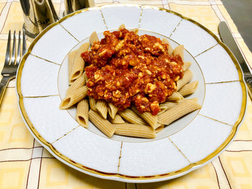 Chicken Wholemeal Penne Bolognese (DF)
