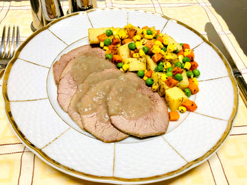 Roast Beef with Roasted Vegetables (GF) (DF)