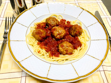 Traditional Spaghetti & Meatballs