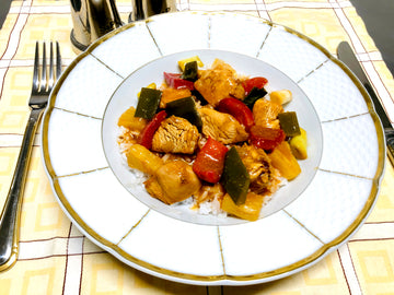 Sweet & Sour Chicken With Rice (GF) (DF)
