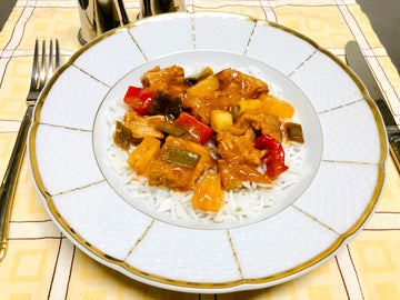 Sweet & Sour Pork With Rice (GF) (DF)