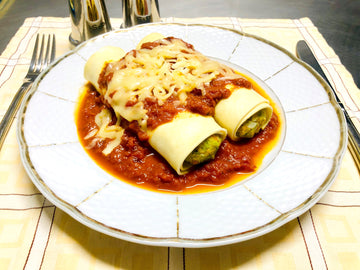 Vegan Cannelloni with Napolitana Sauce (DF)