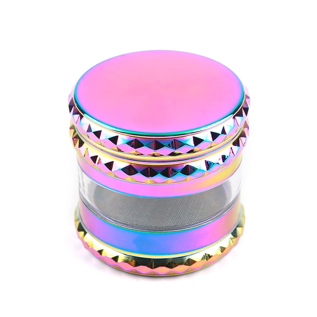 Rainbow ice blue diamond edge Grinder