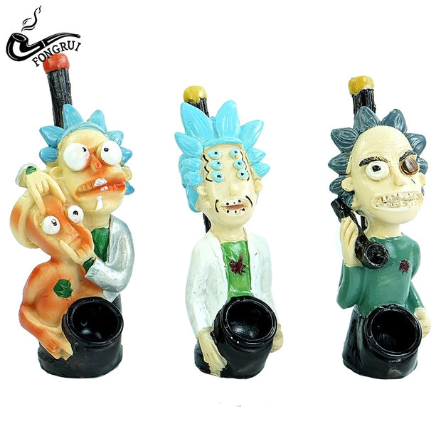 Rick and Morty hand pipes