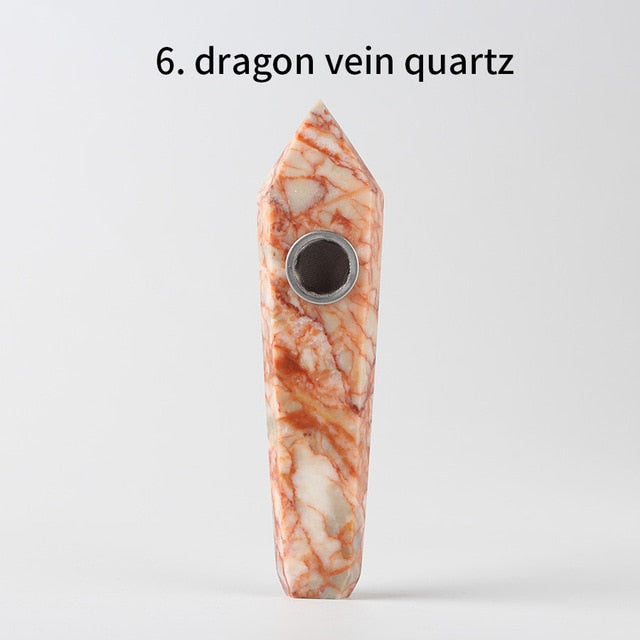 Natural Quartz Pipe