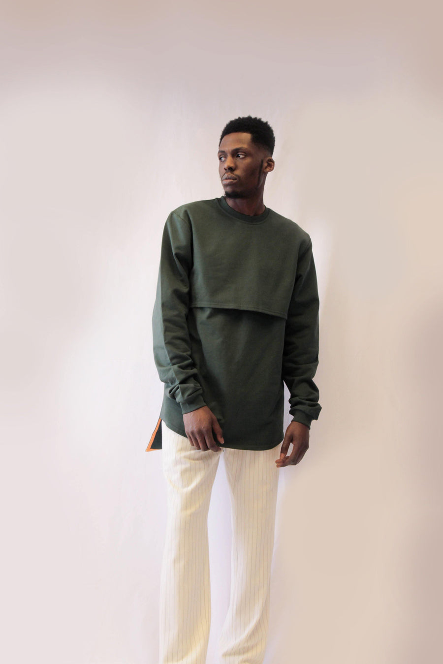 Long Backed Forest Jersey Jumper