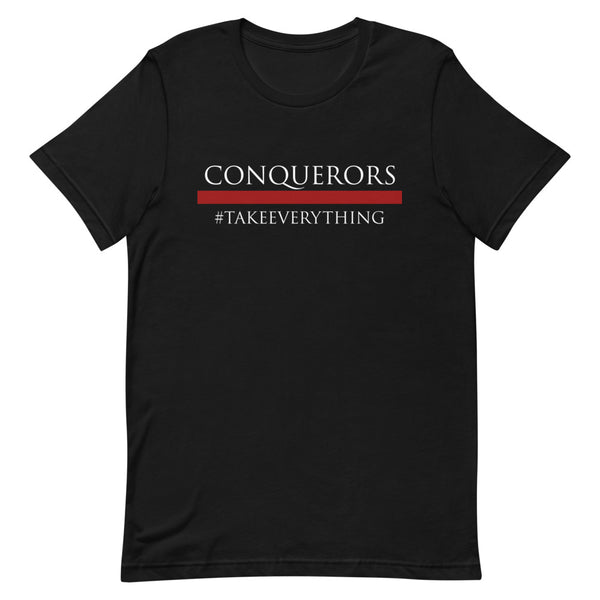 T-SHIRT MANCHES COURTES #CONQUERORS YIN - Eagle Sky