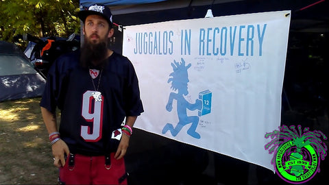 faygoluvers, juggalos in recovery, sober the juggalo, gathering of the juggalos, icp, insane clown posse, hatchetman, juggalo, juggalette