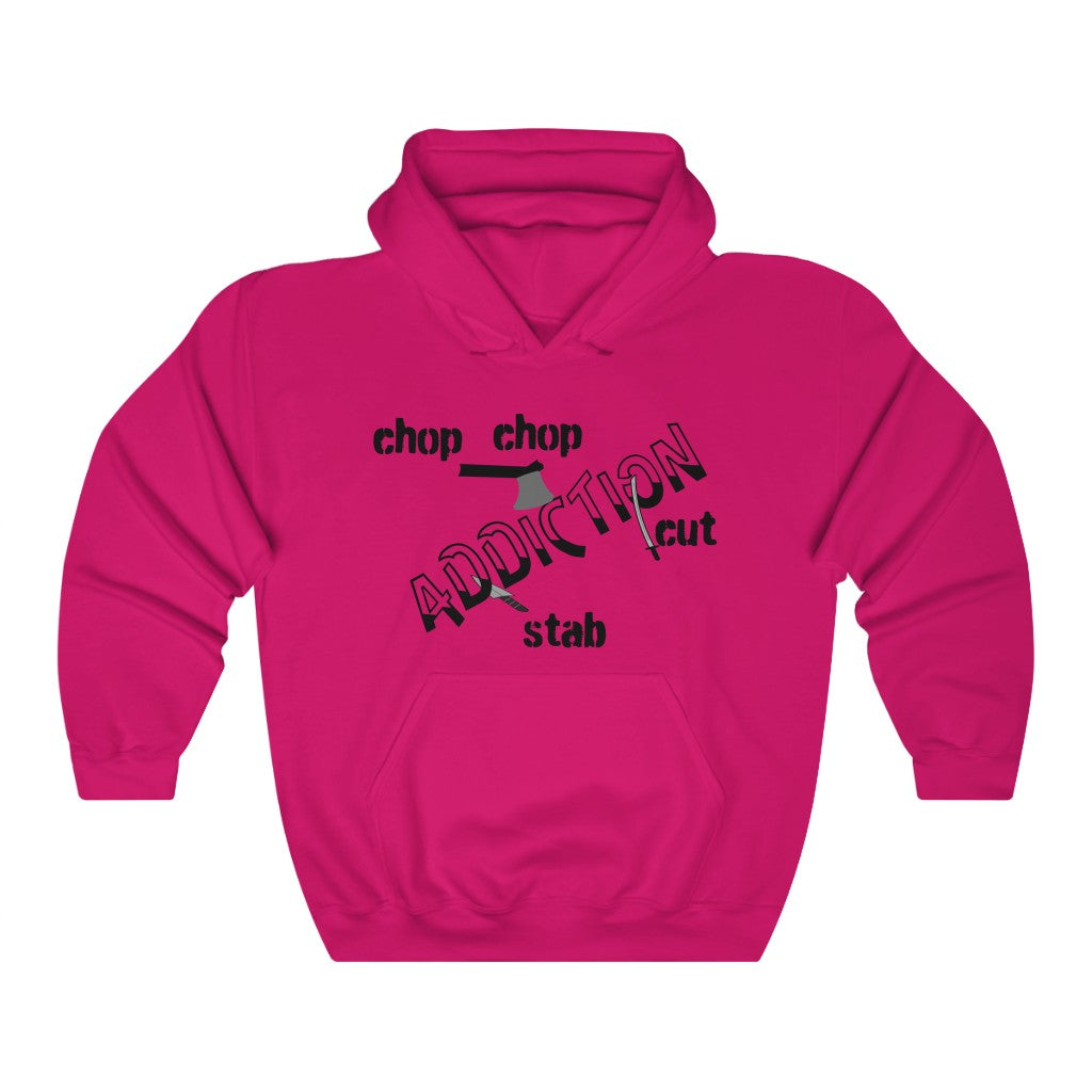 Chop Your Addiction Unisex Heavy Blend™ Hooded Sweatshirt