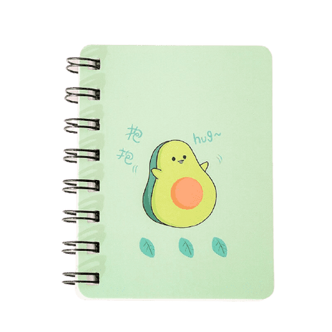Bloc-notes Avocat Style Kawaii.