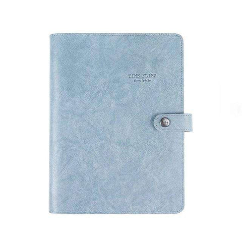 Carnet de Notes Time Flies (Cuir) - Deways