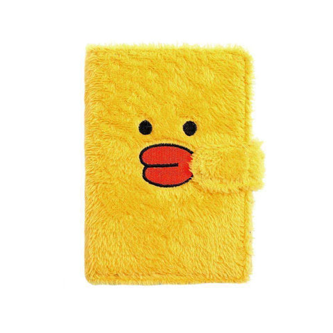 Carnet de Notes Animaux Style Kawaii (Peluche) - Deways