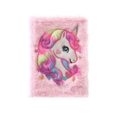 Journal Intime Licorne (Peluche) - Deways