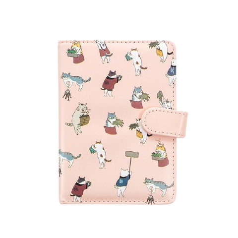 Carnet de Note Chat Japonais Style Kawaii (Cuir) | Deways