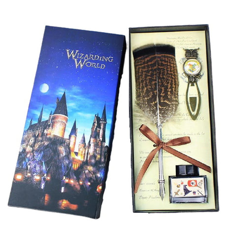 Stylo à Plume Sorcier Harry Potter (Coffret) | Deways