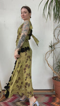 Load and play video in Gallery viewer, 1930s Chartreuse Lamé Gown