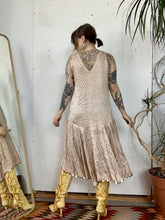 Load image into Gallery viewer, 1920s Rhinestone Studded Dress