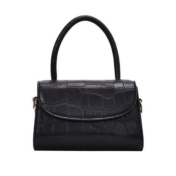 Maya Croc Effect Mini Handbag