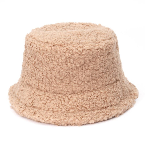 Amanda Teddy Bucket Hat in Multiple Colors