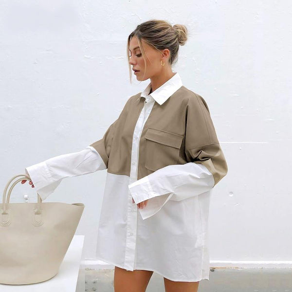 Inga Oversized Shirt Dress