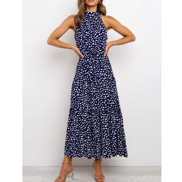 Samantha Wrap Front Midaxi Dress