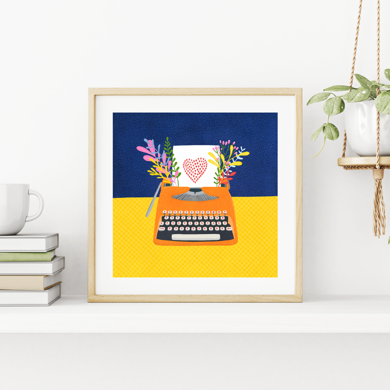 Fleur & Mimi - Art Prints made in Ireland - You're My Type