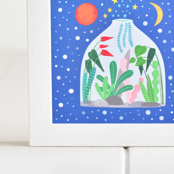 Fleur & Mimi - Irish made Giclée  Art Prints - Terrarium