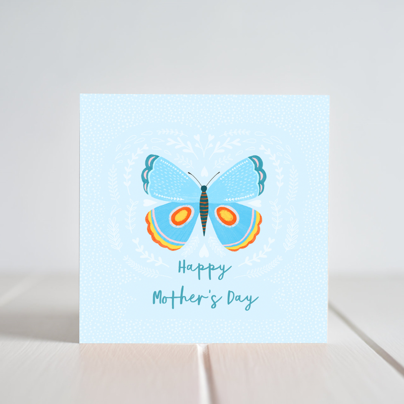 Irish made Greeting Card. Wish your Mum the happiest Mother's Day with this Spring inspired card!