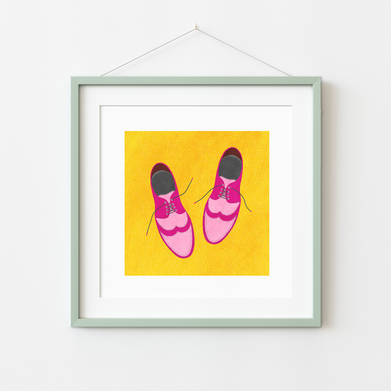 Fleur & Mimi - Art Print made in Ireland - Going Places