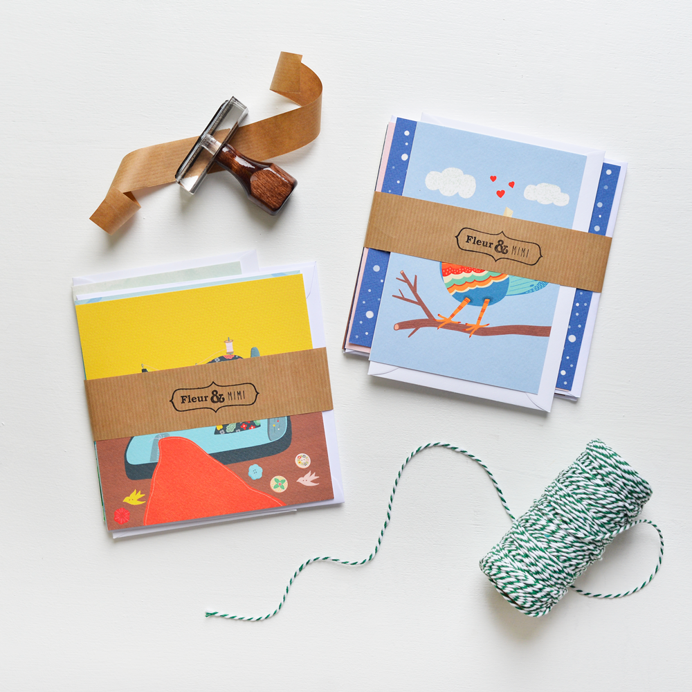 Perfectly Imperfect greeting cards made by Fleur & Mimi in Ireland - because we aim to be as sustainable as possible