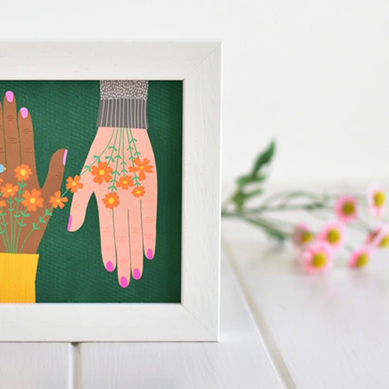 Fleur & Mimi - Art Prints made in Ireland - We Are One